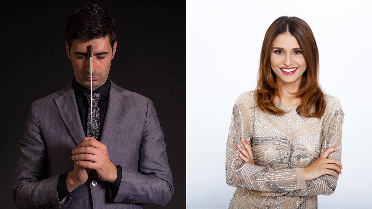 Jordi Navarro y Valentina Nafornita