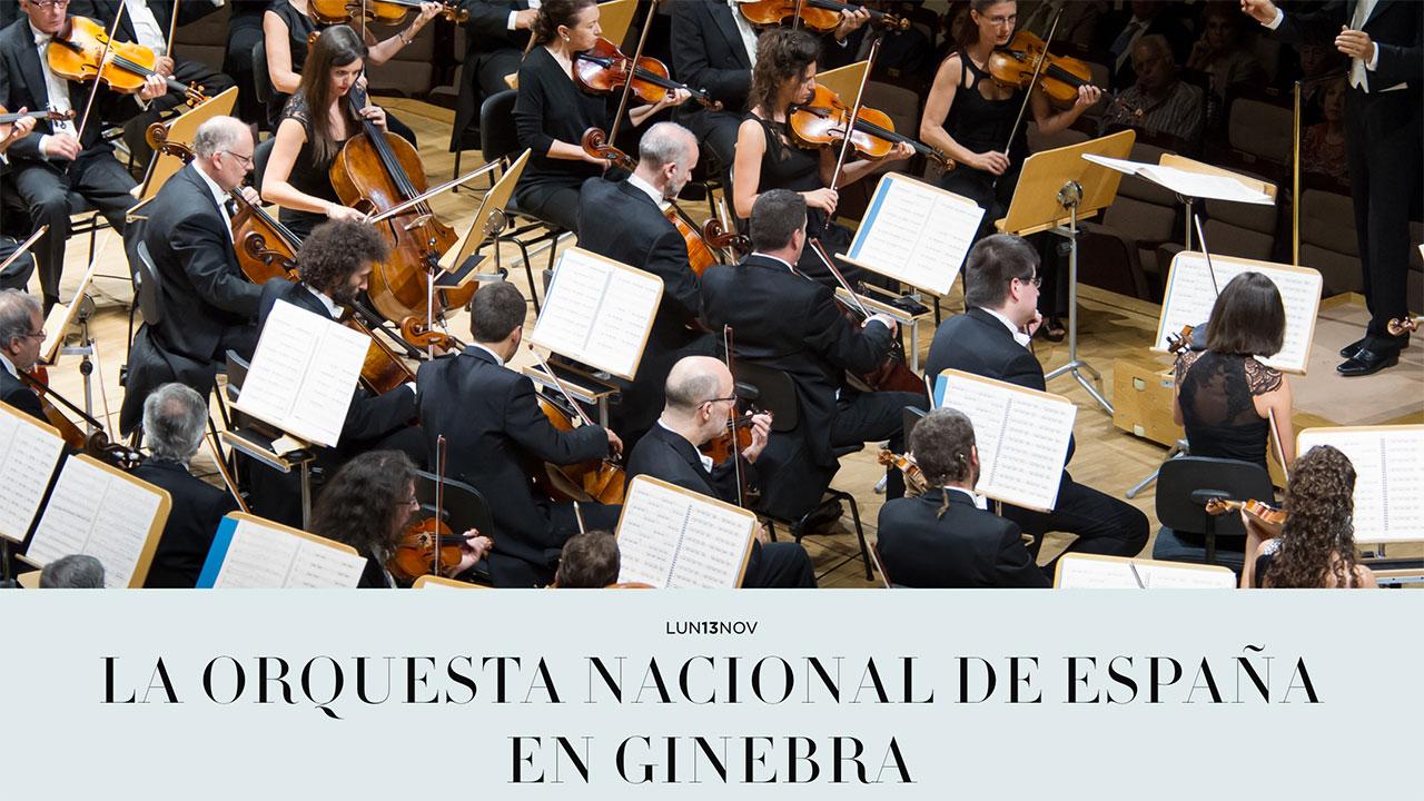 Gira de conciertos de la Orquesta Nacional de España